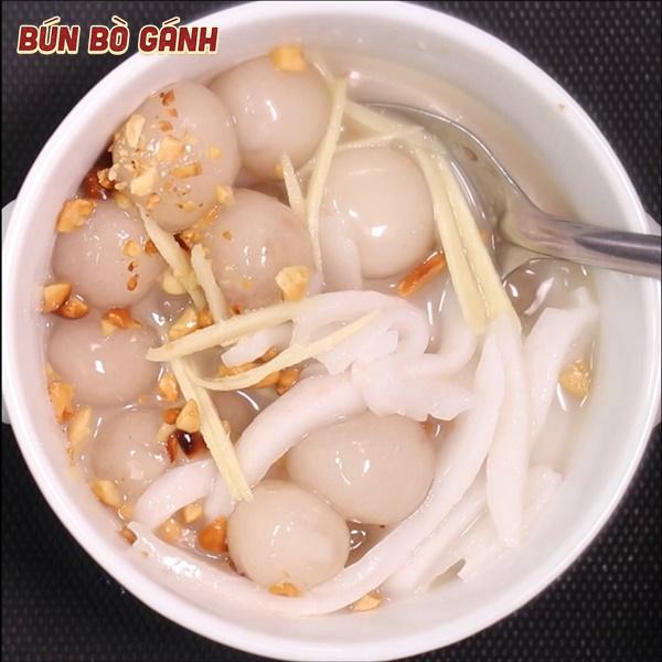 Chè Bột Lọc (Chè Huế) - Small Cassava & Rice Flour Dumplings
