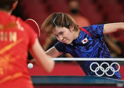 卓球女子団体決勝