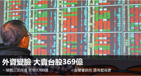 國內外盤前財經彙總20200505 台灣股市 外資變臉 大賣台股369億