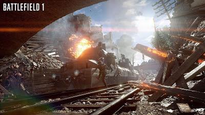 כל הפרטים החדשים על הרכבת ב-Battlefield 1; הנהיגה בה אפשרית