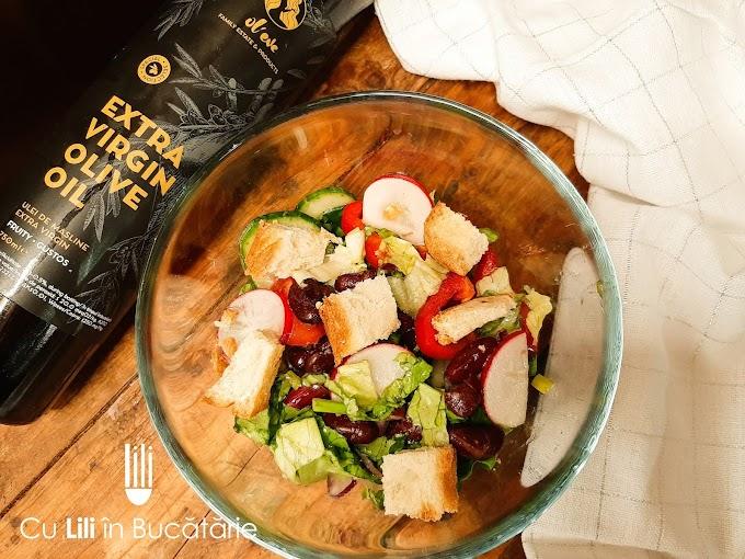 Salată cu fasole roșie
