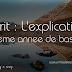 Ecrit : L'explication 8 eme annee de base