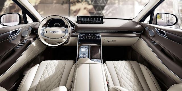 Hyundai lança Genesis GV80 na Coréia - SUV de luxo