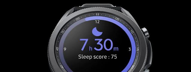 Galaxy Watch 3 LTE Sleep Tracking