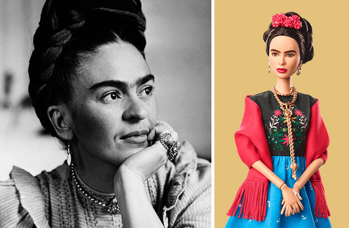 Barbie Introduces 17 New Dolls Based On Inspirational Women Such As Frida Kahlo And Amelia Earhart - Frida Kahlo, Artist