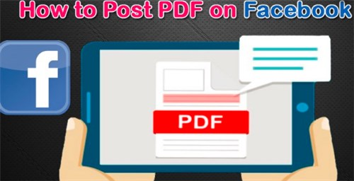 Can You Post A Pdf On Facebook