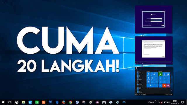 20 Langkah Mudah Install Windows 10, Unduh Langsung dari Web Microsoft!