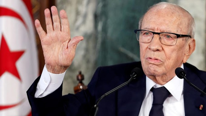 'I will not seek re-election' - Tunisia's 92-year-old president, Beji Caid Essebsi