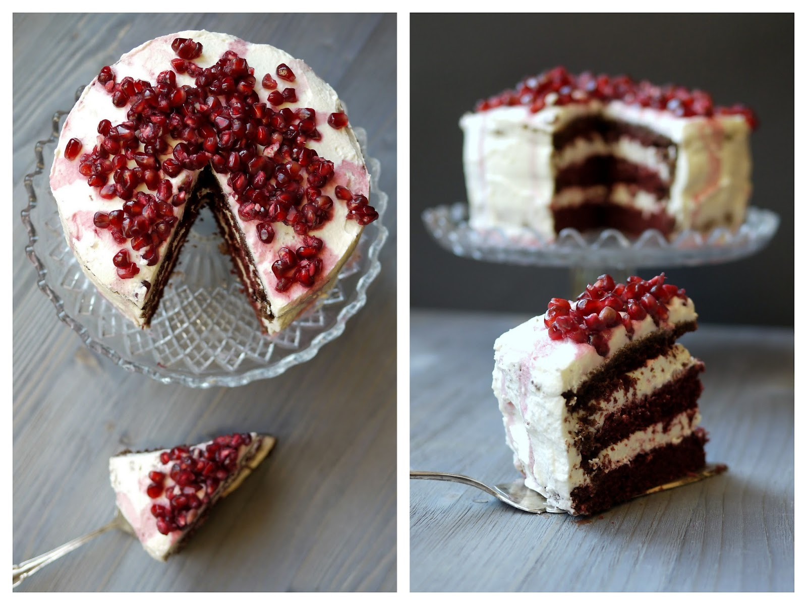 Red Velvet Cake | Backen | Rezept | Torte