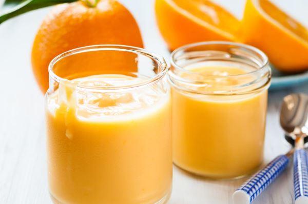 Νηστίσιμη κρέμα πορτοκαλιού