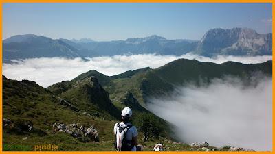 Vistas al Tiatordos desde el Pico Pierzo
