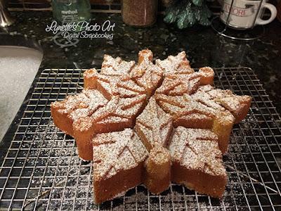 Snowflake Cakes!
