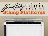 tim holtz travel stamping platform