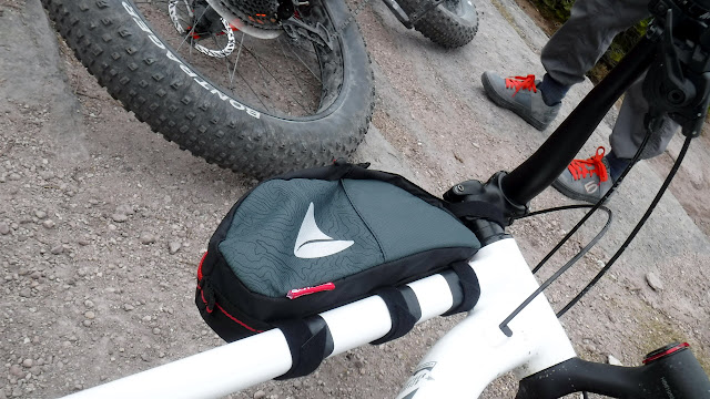 Fatbike Republic Fat Bike Axiom Podpak P2.0 Gas Tank Bag On Bike Storage Bikepacking Bag 2020 Bigfoot 1S