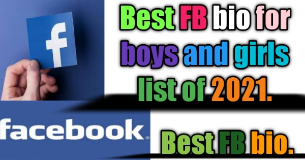 1500+ new latest Best attitude FB bio for boys and girls bouth list of 2021.