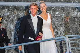 Beatrice Borromeo with the Monaco royal Pierre Casiraghi at their wedding in 2015