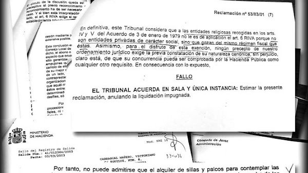 The Council of Seville charged subscribers 21% of the VAT of the chairs despite having the exemption