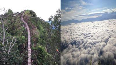 5 Keunikan Objek Wisata Gunung Sopai Toraja Utara