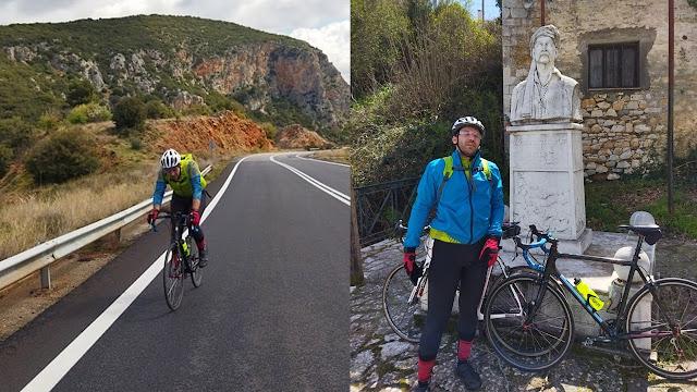 Ποδηλάτης από το Ναύπλιο διένυσε 200χλμ για τα 200 χρόνια της Ελληνικής Επανάστασης τιμώντας τον Νικηταρά