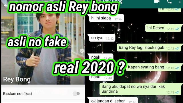 nomor wa rey bong asli