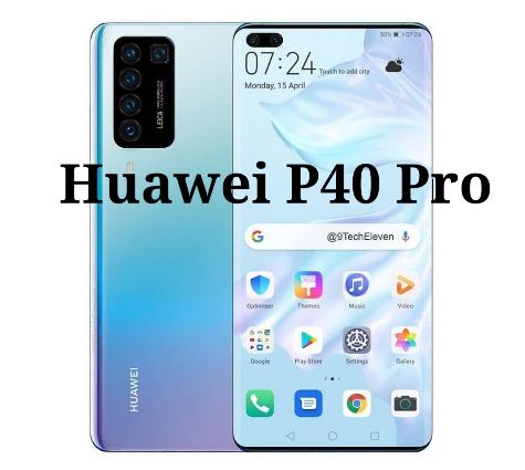 Ini Dia penampakan Huawei P40, Mengunakan layar Punch Hole