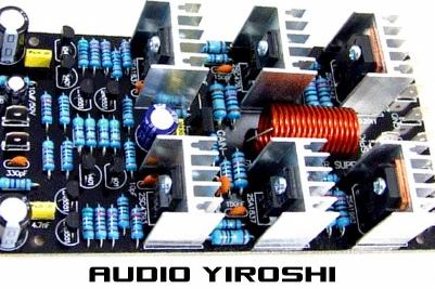 power rakitan Yiroshi Super Driver Power amplifier yang bagus untuk subwoofer dan Bass paling empuk