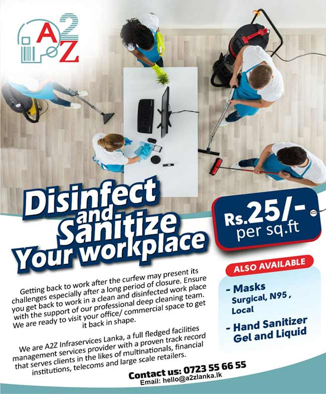 Disinfect and Sanitize Your Workplace