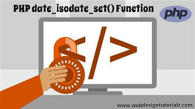 PHP date_isodate_set() Function