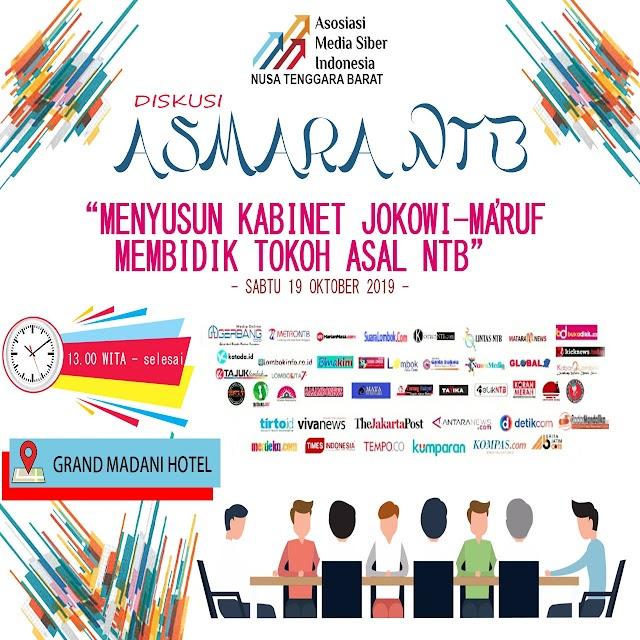 AMSI NTB Gelar Diskusi Menyusun Kabinet Jokowi-Ma'ruf Amin, Membidik Tokoh Asal NTB