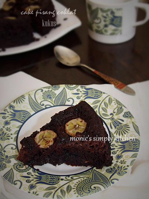 resep cake pisang coklat kukus