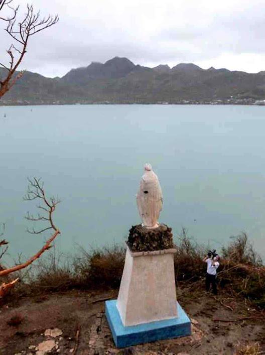 Virgen Milagrosa ficou incólume no pior furacão