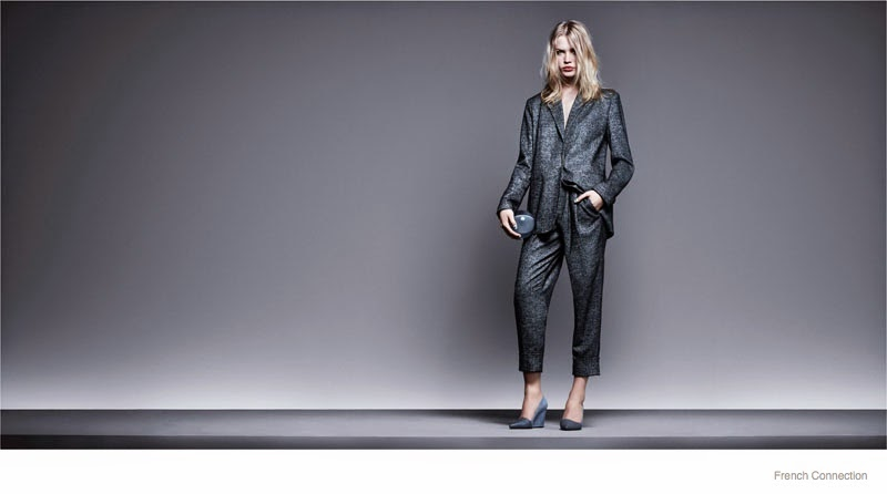 French Connection Fall/Winter 2014 Campaign starring Camilla Christensen and magician Troy