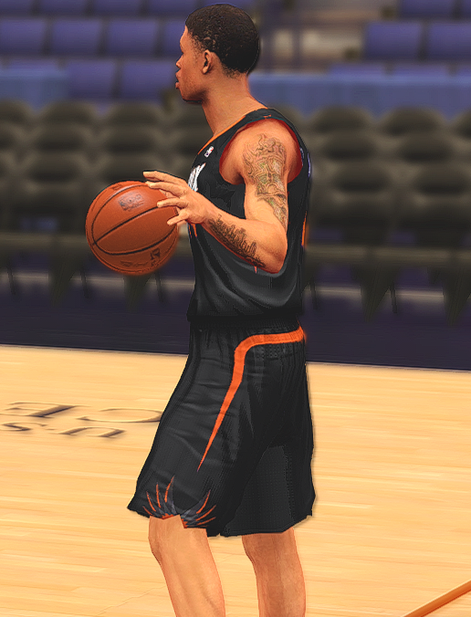 NBA 2K14 Redesigned Phoenix Suns Black Jersey Patch