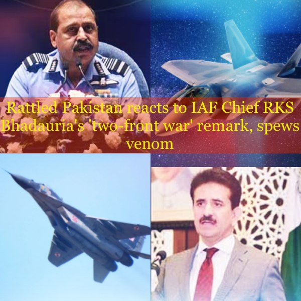 Pak reaction on IAF Chief remarks