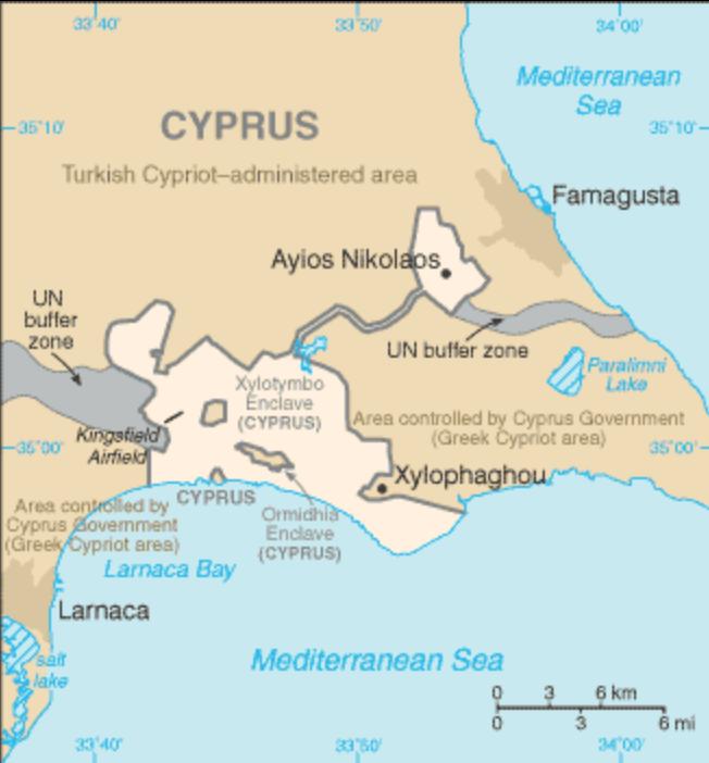 Smażalnia w bazie wojskowej – Dhekelia na Cyprze