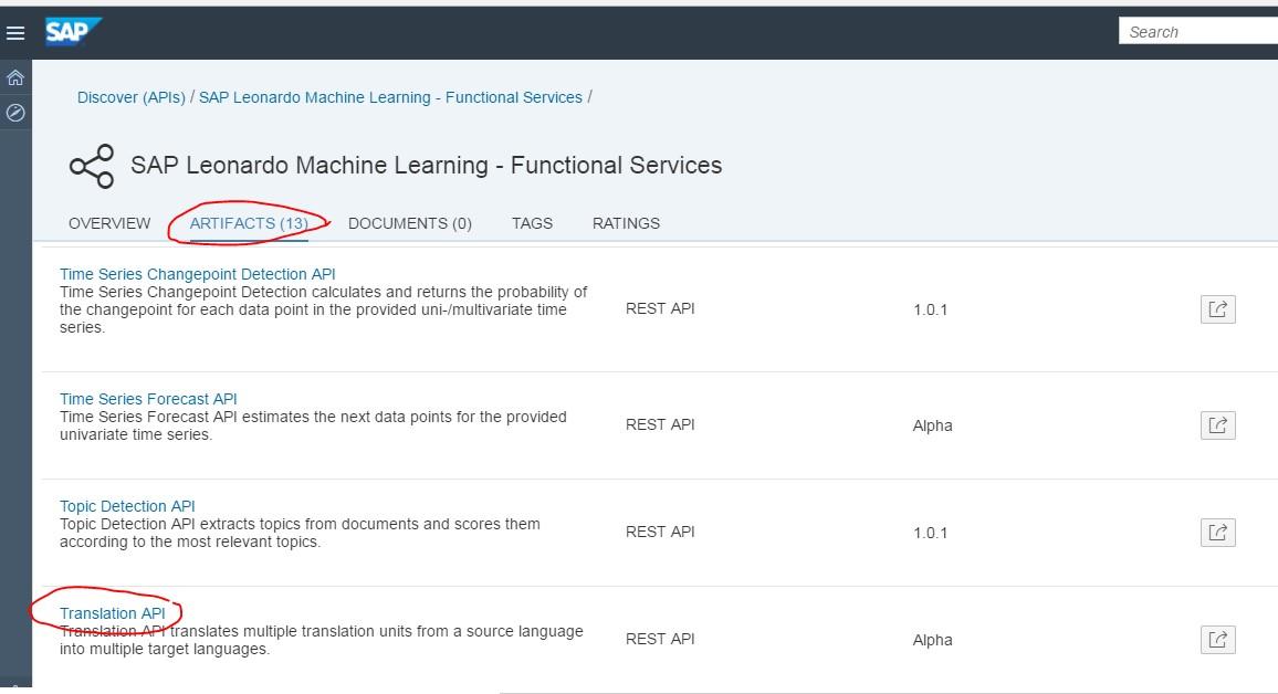 SAP HCI/CPI - Cloud Platform Integration: SAP API call (api sap com