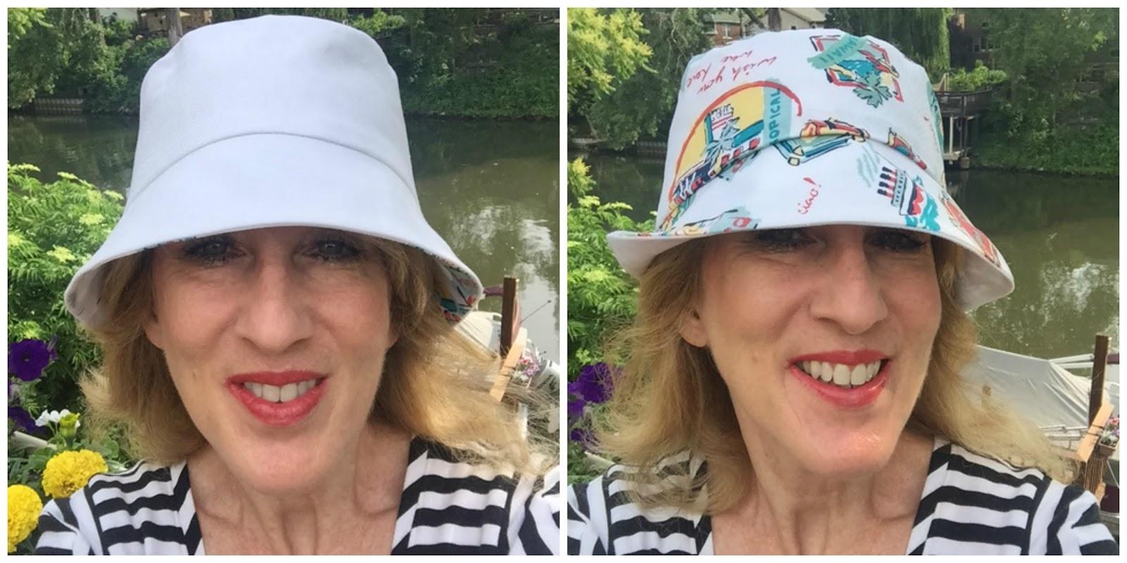 Rhonda s Creative Life  Monday Morning Inspiration Making The Bucket Hat 9093d50c8b8