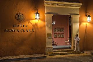 Foto divulgação Hotel Santa Clara - Matéria Cartagena - BLOG LUGARES DE MEMÓRIA