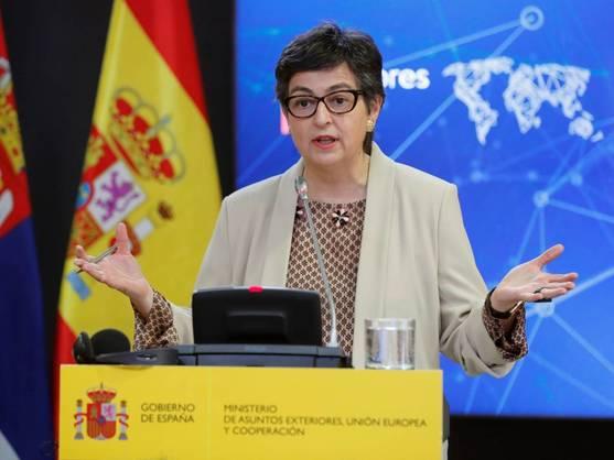 🔴 La Ministra de Exteriores afirma que Ghali se marchará de España una vez concluya el tratamiento.