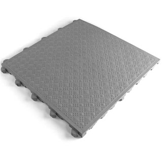 Greatmats ComfortMatta anti fatigue basement plastic tiles
