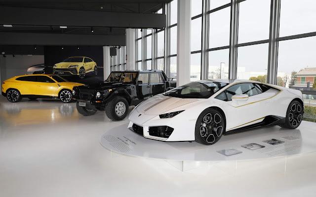 Lamborghini Huracán RWD do Papa