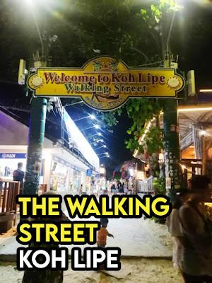 Walking Street Di Koh Lipe Thailand
