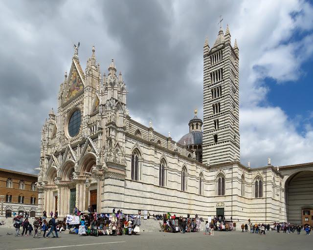 Cattedrale Metropolitana di Santa Maria Assunta, Metropolitan Cathedral of Saint Mary of the Assumption, Duomo di Siena Siena Cathedral, Piazza del Duomo, Siena