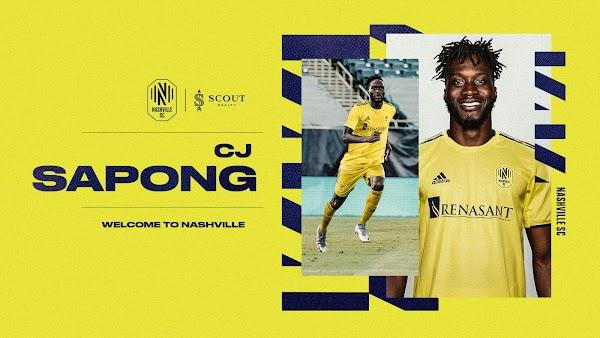 Oficial: Nashville SC, firma Sapong