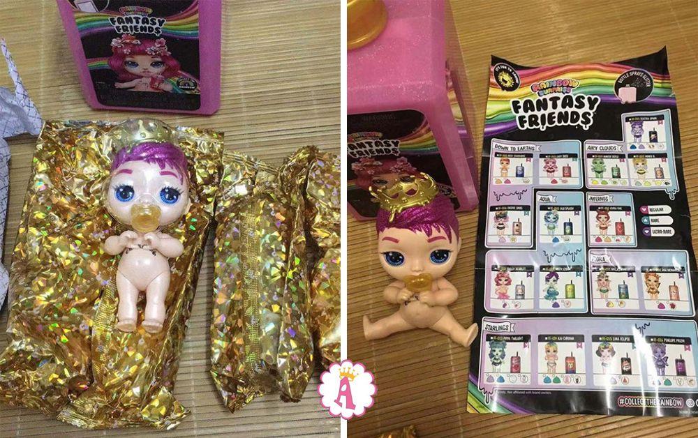 Кукла пупс сюрприз и слайм Poopsie Fantasy Friends