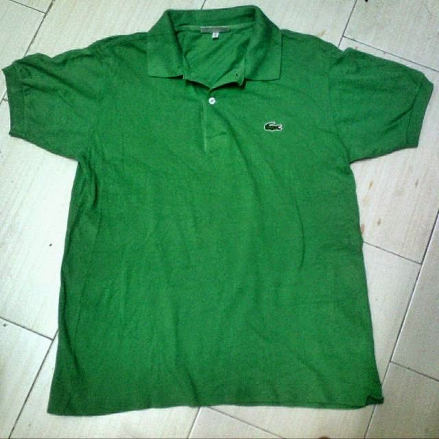 30837dbe469 Brand new Clayback Bush Thrift Store   Polo T Shirt  Chemise Lacoste Green  KF87