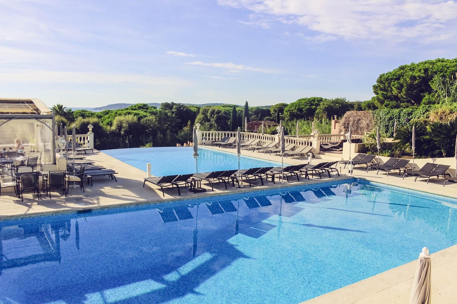 blog hôtel mas Bellevue saint Tropez