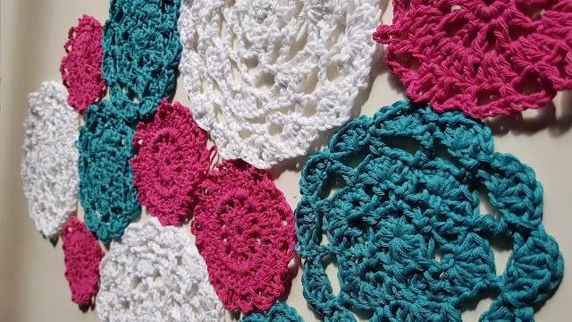 Aprende a Tejer Camino de Mesa a Crochet