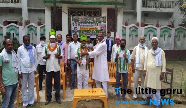जदयू में शामिल हुए जाप और रालोसपा के नेता, विधानसभा चुनाव में दिखाएंगे दम