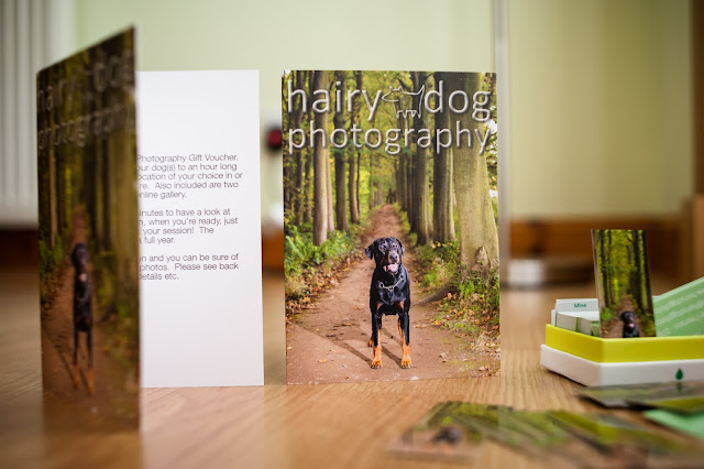 Hairy Dog Photography gift vouchers, Aberdeen